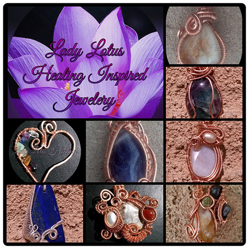 Lady Lotus Healing Inspired Jewelry